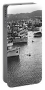 Monterey Harbor Full Of Purse-seiner Fishing Boats California 1945 Portable Battery Charger