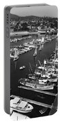 Monterey Marina With Fishing Boats In Slips Sept. 4 1961  Portable Battery Charger