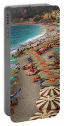 Monterosso Beach Portable Battery Charger