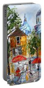 Montmartre Paris Portable Battery Charger