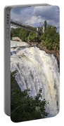 Montmorency Falls Park Quebec City Canada Portable Battery Charger