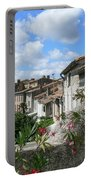 French Hilltop Terraces Portable Battery Charger by France  Art