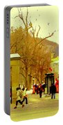 Montreal Memories Mcgill Students On Campus Roddick Gates Montreal Collectible Art Prints C Spandau Portable Battery Charger