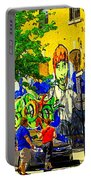 Montreal Street Art Murals Festival Painted Graffiti Tags Plein Air Entrepot Mont Royal C Spandau Portable Battery Charger