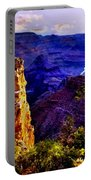 Monument To Grand Canyon  Portable Battery Charger