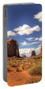 Monument Valley - North Window Overlook  Portable Battery Charger