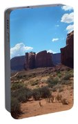 Monument Valley Scenic View Portable Battery Charger