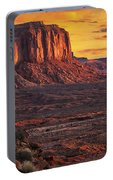 Monument Valley Sunrise Portable Battery Charger
