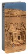 Monumental Abu Simbel Portable Battery Charger