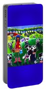 Moo Cow Farm Portable Battery Charger