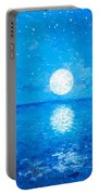 Moon And Stars Portable Battery Charger