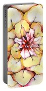 Moon Flower Out Of The Bloomers And Onto The Bloom Portable Battery Charger