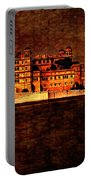 Moon Over Udaipur Painted Version Portable Battery Charger