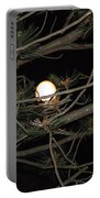 Moon Through Pines Portable Battery Charger