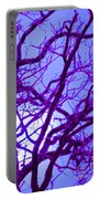 Moon Tree Purple Portable Battery Charger