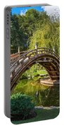 Moonbridge - The Beautifully Renovated Japanese Gardens At The Huntington Library. Portable Battery Charger