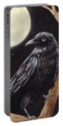 Moonlight Raven Portable Battery Charger
