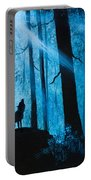 Moonlight Serenade Portable Battery Charger by C Steele