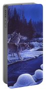 Moonlight Visitors Portable Battery Charger