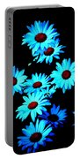 Moonlit Daisies Portable Battery Charger