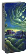 Moonlit Dreams Come True Portable Battery Charger