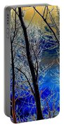 Moonlit Frosty Limbs Portable Battery Charger