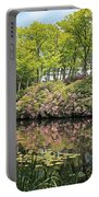 Moore State Park Water Reflections Portable Battery Charger