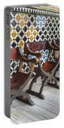 Moorish Tile Work At The Alhambra Portable Battery Charger