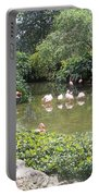 More Pink Flamingos Portable Battery Charger