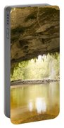 Moria Gate Arch In Opara Basin On South Island In Nz Portable Battery Charger