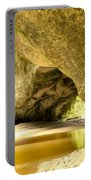 Moria Gate Arch In Opara Basin On South Island Of Nz Portable Battery Charger