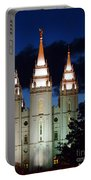 Mormon Temple Lds Utah Portable Battery Charger