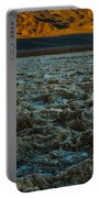 Morning At Badwater Portable Battery Charger