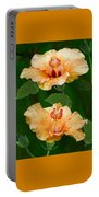 Morning Blooms - Hibiscus Portable Battery Charger