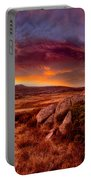 Morning Clouds Over Jugungal Portable Battery Charger