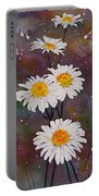 Morning Daisies Portable Battery Charger