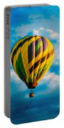 Morning Flight Hot Air Balloons Portable Battery Charger