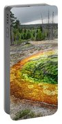 Morning Glory Pool - Yellowstone Portable Battery Charger