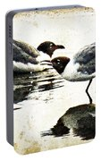 Morning Gulls - Seagull Art By Sharon Cummings Portable Battery Charger