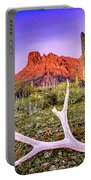 Morning In Organ Pipe Cactus National Monument Portable Battery Charger