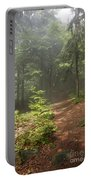 Morning In The Forest Portable Battery Charger