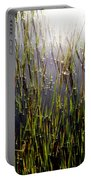 Morning Light Of God Portable Battery Charger by Karen Wiles