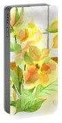 Morning Magnolias Portable Battery Charger