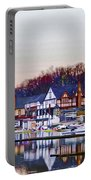 Morning On Boathouse Row Portable Battery Charger