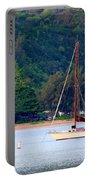 Morning On Hanalei Bay Portable Battery Charger