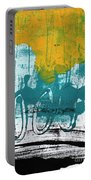 Morning Ride Portable Battery Charger by Linda Woods