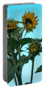 Morning Sunflowers Portable Battery Charger