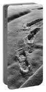 Mornings First Footprints  Portable Battery Charger