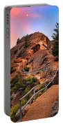Moro Rock Path Portable Battery Charger by Inge Johnsson