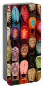 Moroccan Babouches Old Medina Marrakesh Morocco Portable Battery Charger